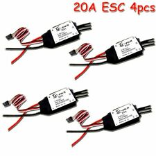 4pcs G-SUN 20A ESC Brushless Speed Controller for drone rc quadcopter helicopter
