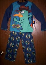 Phineas and Ferb PERRY Pajamas Boy's size 8 NeW Long Sleeve Shirt & Pants Pjs