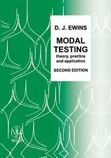 Modal Testing, Theory, Practice & Application by D. J. Ewins, 2nd Ed (Hardcover)