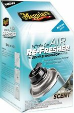 Meguiars G16402 Whole Car Air Refresher Odor Eliminator New Car Scent - 2.5