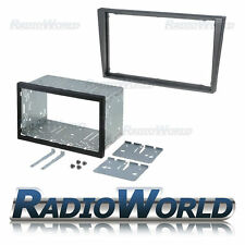Vauxhall Vectra Grey Double Din Fascia Panel Adapter Plate Cage Fitting Kit