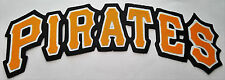 """HUGE PITTSBURGH PIRATES IRON-ON PATCH - 3.25"""" x 9.75"""""""