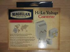 Compact universal travel converter hi-lo voltage