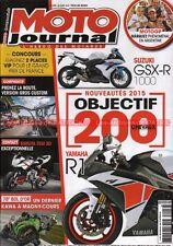 MOTO JOURNAL 2096 HARLEY DAVIDSON 1690 Rider SUZUKI 1800 Intruder TRIUMPH 1700