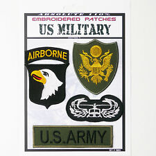 "US ARMY ""AIRBORNE"" BAND OF BROTHERS Iron-On Patch Super Set #081 - FREE POSTAGE!"