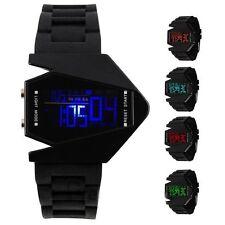 6-LED Digital SPORT WATCH Fashion Sports LED Uhr UNISEX Armbanduhr Uhr