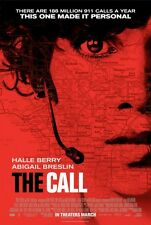 The Call - original DS movie poster - D/S 27x40 Halle Berry