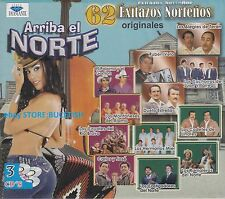 Ruben Vela,Los Alegres de Teran,Carlos Y Jose ARRIBA EL NORTE 3CD NEW SEALED