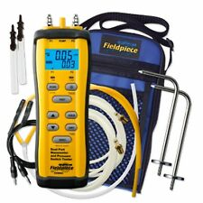 NEW!! Fieldpiece SDMN6 Dual Port Manometer And Pressure Switch Tester
