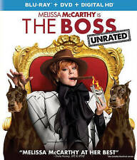 The Boss (Blu-ray/NO DVD. FREE, FIRST CLASS SHIPPING