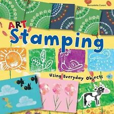 NEW - Art Stamping Using Everyday Objects (Art Painting)