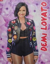 DEMI LOVATO - A2 Poster (XL - 42 x 55 cm) - Clippings Fan Sammlung NEU