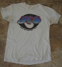 VTG TEXAS ESTATE 1974 YES NORTH AMERICAN TOUR T SHIRT CONCERT