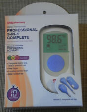 CVS Professional 3-In-1 Complete Digital Thermometer Brand New In Package NIP