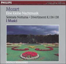 Mozart Eine Kleine Nachtmusik K 525 & Serenata Notturna K 239 & Divertimenti K