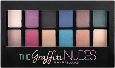New Maybelline The Graffiti Nudes Eyeshadow 12 shades Palette HOT!