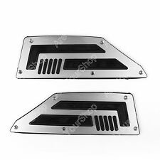 Front Footrest Footpeg For Yamaha TMAX 530 Silver BS1