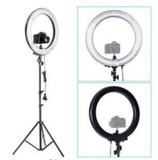 "Camera Photo 14"" 600W 5500K Ring Fluorescent Flash Light with 59"" light stand"