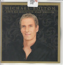 MICHAEL BOLTON & LEONA LEWIS Ain't No Mountain... UK #'d + sealed promo test CD