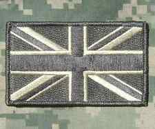 UNION JACK UK ARMY GB FLAG UK BRITISH ACU VELCRO® BRAND FASTENER PATCH