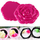 Compact 3D Pocket Mirror Double Sided- Pink Rose Red colours available FT