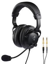 Monacor BH-009 Professionale cuffie Stereo, Microfono