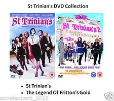 ST TRINIANS DOUBLE PACK DVD PART 1 and 2 Movie Film Brand New Sealed UK Release