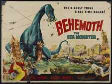 Giant Behemoth Poster 03 Metal Sign A4 12x8 Aluminium