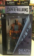 DC Comics New 52 Super-Villains Deathstroke Action Figure Brand New