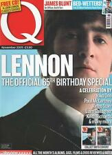 Q MAGAZINE November 2005 Lennon The Official 65th Birthday Special AL
