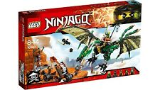 NEW IN BOX LEGO Ninjago The Green NRG Dragon 70593