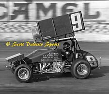 1988 JIMMY SILLS WORLD OF OUTLAWS ASCOT PARK 8 X 10 SPRINT CAR PHOTO