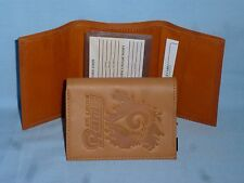 ST. LOUIS (now Los Angeles) RAMS   Leather TriFold Wallet   NEW!   tan  bb