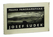 Praha Panoramaticka by JOSEF SUDEK ~ First Edition 1959 ~ Photography Prague 1st