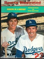 Sports Illustrated 1973 LA Dodgers Bill Russell & Claude Osteen No Label Exc.