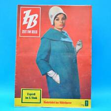 DDR Zeit im Bild ZB NBI 2/1961 Belgien Mode Njemen Schwebebahn Meißen Oldtimer