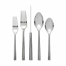 Nambe Tri Corner 60 Pc Flatware Set, Service For 12