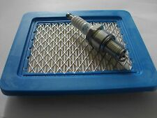 Tune Up Kit Air Filter & Spark Plug fits ATCO Hover Mower  Honda OHC GCV Engine