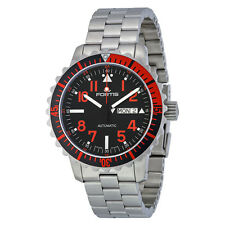 Fortis Marinemaster Automatic Black Dial Stainless Steel MensWatch 6702343M