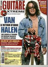 """GUITARE XTREME #19 """"Van Halen,A.Timmons,Butler,Incubus,Pleymo,M.Stern""""(REVUE+CD)"""