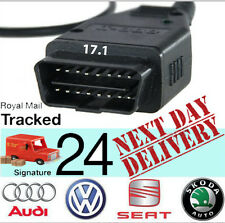 VCDS Vag Com Can USB cable 17.1 for Audi Seat Skoda Volkswagen Diagnostic Tool
