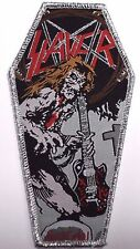 slayer coffin  WOVEN  PATCH