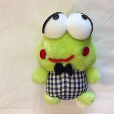 "Vintage Sanrio 1992 keroppi Plush 6""  stuffed animal rare"