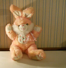 "Gorgeous Jumbo size Pink bunny rabbit 30"" embroidered flowers soft plush Easter"