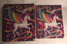Lisa Frank Glitter Unicorn Spiral Notebook Pocket Folder