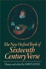 The New Oxford Book of Sixteenth-Century Verse-ExLibrary