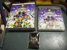 KINGDOM HEARTS HD 2.5 REMIX LIMITED EDITION GAME WITH PIN FOR PLAYSTATION 3 PS3