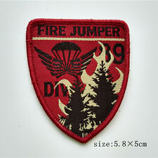 Forest Fire Service Smoke Jumper Sew On Patch Clothes Clothing Accessories