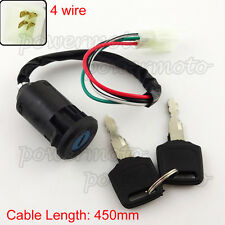 4 Wire Ignition Key Switch For Chinese Pit Pro Dirt Trail Bike ATV 4 Wheeler