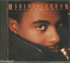 MARLON JORDAN - For you only - CD 1990 COME NUOVO